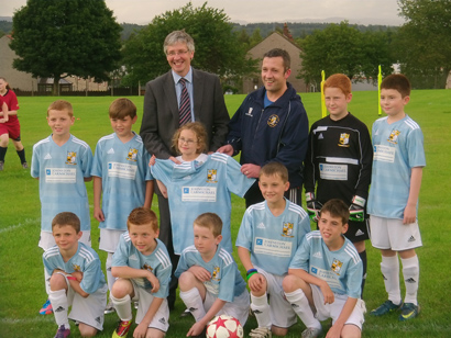 Letham FC Boys 2002 Sky Blues